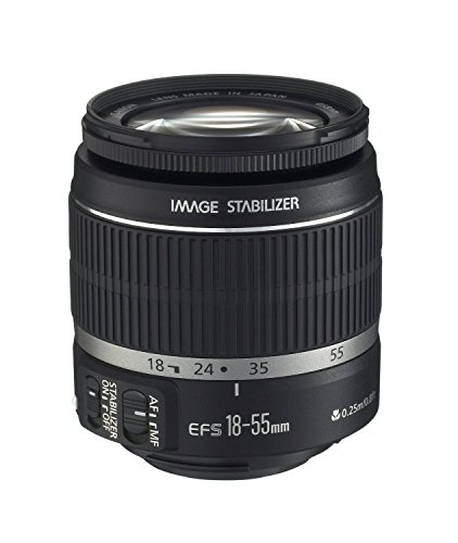 Canon EF-S 18-55mm f/3.5-5.6 IS II SLR Lens White Box (Best F1 2 Lens)