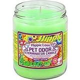 Specialty Pet Pet Odor Exterminator Candle, Hippie Love