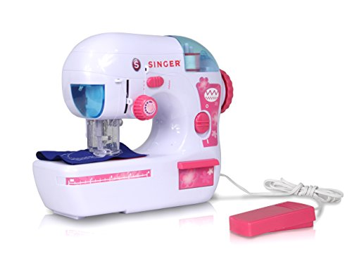 Great Deal! NKOK B/O Singer Zigzag Chainstitch Sewing Machine Remote Control Toy