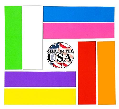 Colored File Folder Labels - 8