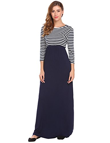 maxi dress and hat for wedding - 9