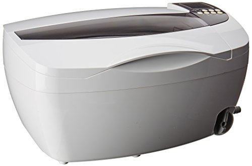 - ANGEL POS 4830 3 Liter 0.8 Gallon 150W Ultrasonic Cleaner with Stainless Steel Basket/Heater and Digital Timer