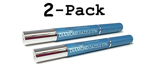[Value, 2-Pack] Connoisseurs Diamond Dazzle Stick Jewelry Cleaners - 2 Diamond Dazzle Sticks included (Will Stick Also)