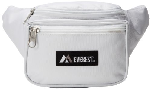 Everest Signature Waist Pack - Standard, White, One Size