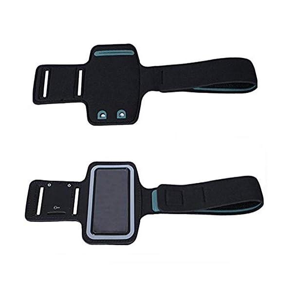 CCHKFEI Brassard de Sport réglable pour lecteurs MP3, résistant aux Rayures avec résistant à la Transpiration et…