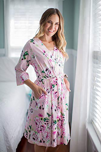 90d67dcd754e0 Baby Be Mine Maternity Labor Delivery Nursing Robe Hospital Bag Must Have  (S M