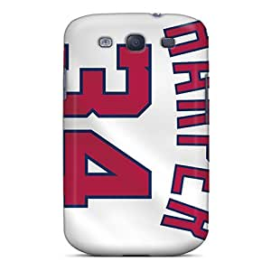 Premium Durable Player Jerseys Fashion Tpu Galaxy S3 Protective Case Cover