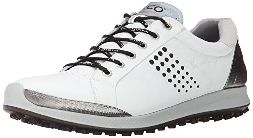 ECCO Men's Biom Hybrid 2 Golf Shoe - White/Black - 8-8.5 ...
