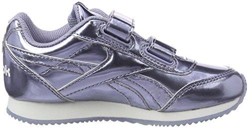 Bambini white Unisex Reebok Fitness Da 2v shadow – Scarpe Cljog Purple metallic 2 Multicolore 000 Royal z6qwpzR