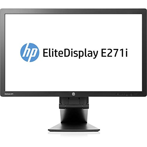 Hewlett Packard HP Business E271i 27'' LED Monitor, 16:9, 7ms, 1920x1080, 250 Nit, 1000:1, DVI/VGA/USB/DisplayPort, Black D7Z72A8#ABA by HP