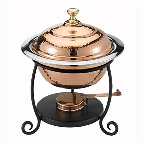 (OKSLO Round decor copper chafing dish model x864)