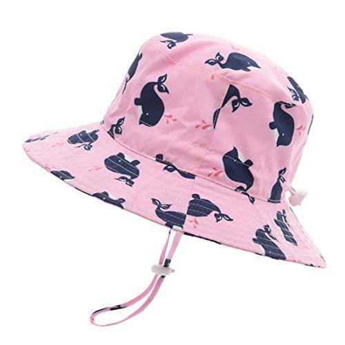 ERISO Baby Boy Sun Hat - UPF 50+ Safari Bucket Outdoor Beach Summer Hat Adjustable ((19.6