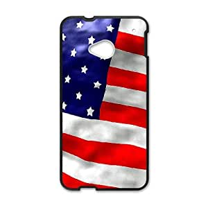 British flag HTC One M7 Cell Phone Case Black Phone cover Y4453566