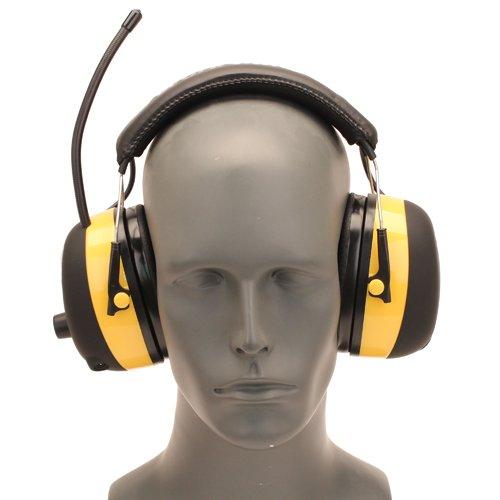 3M tekk WORKTUNES Digital AM FM MP3 Radio Hearing Protection