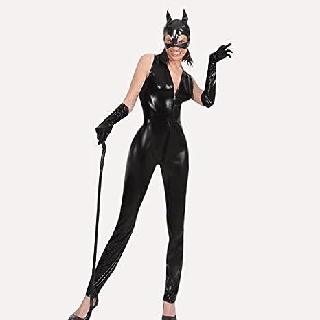 VESTITO COSTUME Maschera di CARNEVALE per Adulti - LA GATTA CATWOMAN -  Taglia 42 76066955434d