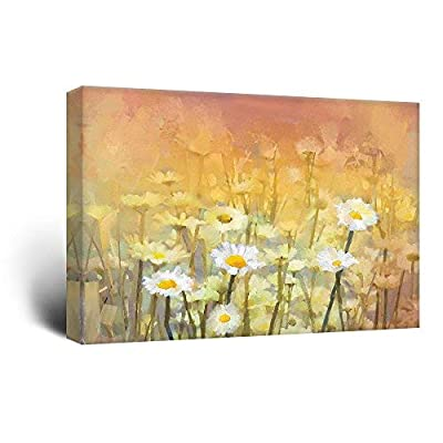 Watercolor Style Small White Flowers 32