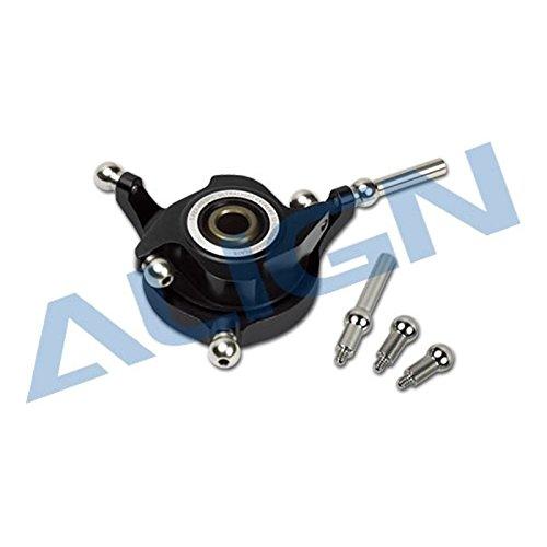 Align 450Dfc Ccpm Metal Swashplate - Black H45H007XX