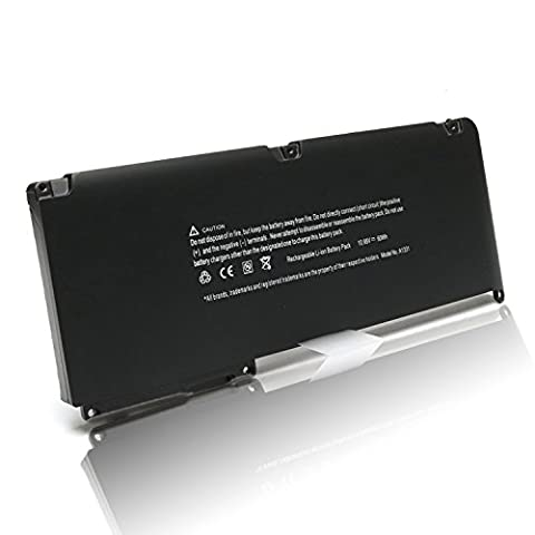 New 60Wh 10.95V Laptop Battery for APPLE a1342 a1331 MacBook 13.3'' Unibody (Late 2009 Mid 2010) mc516ll/a mc373ll/a mc118ll/a mc372ll/a mc375ll/a mb470ll/a (2009 Macbook Battery Unibody)