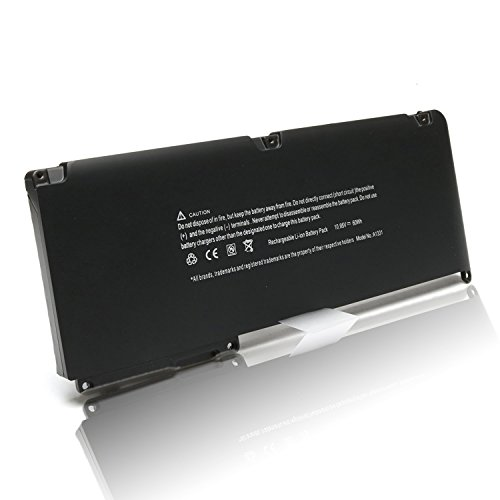 New 60Wh 10.95V Laptop Battery for APPLE a1342 a1331 MacBook 13.3'' Unibody (Late 2009 Mid 2010) mc516ll/a mc374ll/a mc373ll/a mc118ll/a mc372ll/a mc375ll/a mb470ll/a mc226ll/a--DJW