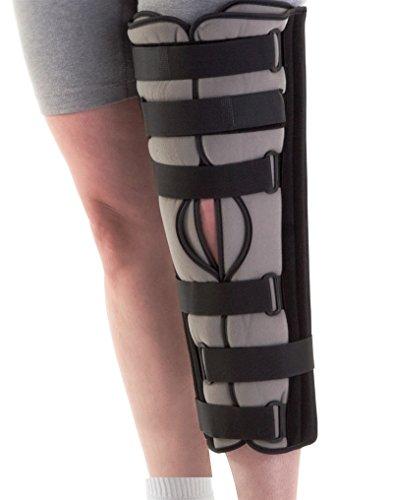 "Medline ORT2410016 Tri-Panel Knee Immobilizers, Universal, 16"""