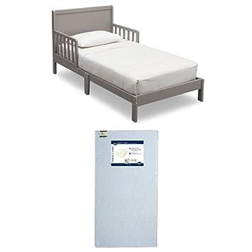 Amazon.com: Delta Children Fabio cama infantil, gris: Baby