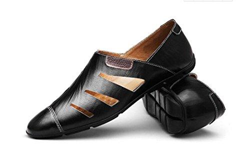 MinottaUKHQ8007 Planos Sintético Negro con Zapatos Minotta Talla EU 40 de Hombre Cordones Color gRxdgqw