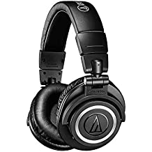 Audio-Technica ATH-M50xBT Wireless Over-Ear Headphones(Renewed)