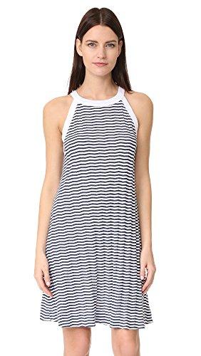 Three Dots Women's a Line Dress, White, XS