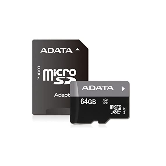 ADATA Premier 8GB microSDHC/SDXC UHS-I U1 Memory Card with Adapter (AUSDH8GUICL10-RA1) 1 Increased speed, no increase in cost Durability Wide Range of Capacities