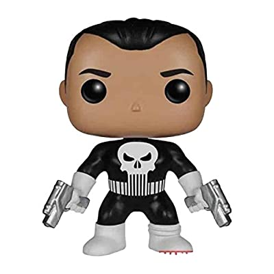 Funko Punisher POP! Marvel Punisher Exclusive Vinyl Bobble Head #80: Toys & Games