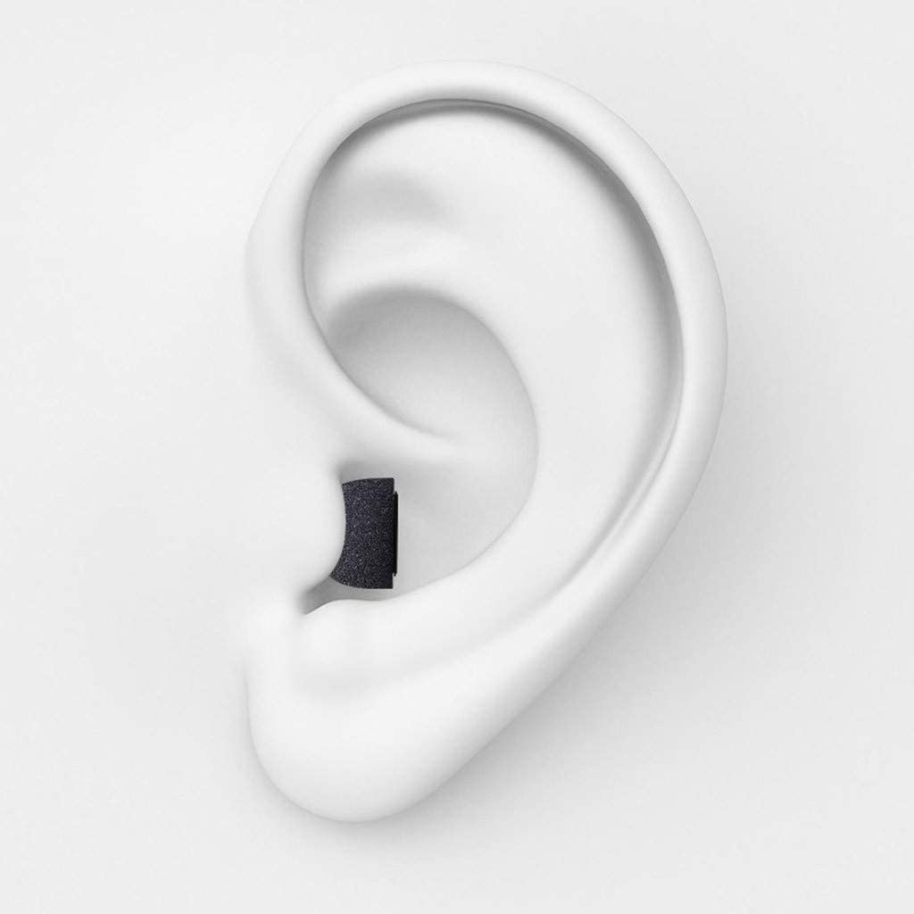 AckfulMemory Foam Replacement Ear Tips Buds Compatible with Airpods Pro 2019 Earplugs Headphones