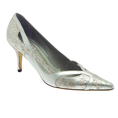 Mujer Plata Zapatos Para Vestir Renata De Marrón SYBqxI