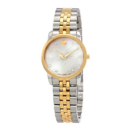 Movado Museum Classic White Mother of Pearl Dial Ladies Watch (Museum Dial Womens Watch)