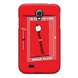 BretPrice Galaxy S4 Hybrid Tpu Case Cover Silicon Bumper In Case Of Fire