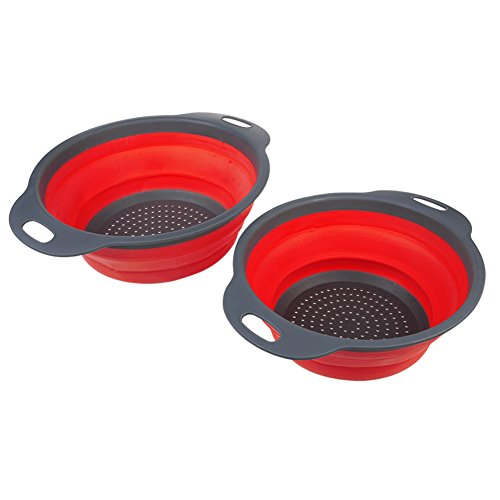 TimeCollect Collapsible Colanders Food Grade Space Saver product image