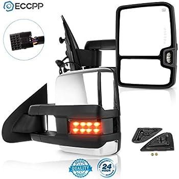 Amazon Com Eccpp Towing Mirrors For 14 17 Chevy Silverado