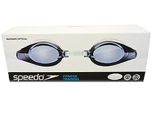 Speedo Mariner Gafas de entenamiento apra adultos con lentes ópticas