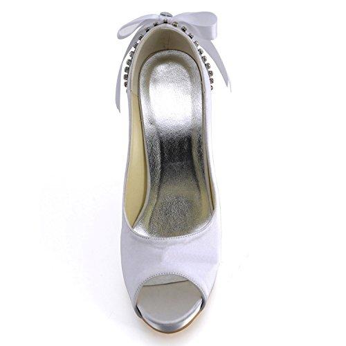 femme blanc Heel Minitoo 10cm Sandales white pour HqwxwvR