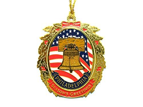 Liberty Bell Season's Greetings Ornament