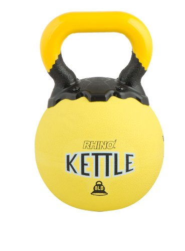 Champion Sports Rhino Kettle Bell Weights, 8-Pound by Champion Sports