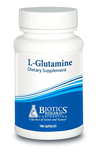 Biotics Research - L-Glutamine 180 capsules