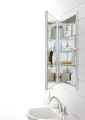 KOHLER K-99003-NA Verdera 20-Inch By 30-Inch Slow-Close Medicine Cabinet With Magnifying Mirror by Kohler (Image #4)