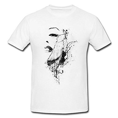 Marilyn-Monroe-IV T-Shirt Herren, Men mit stylischen Motiv von Paul Sinus