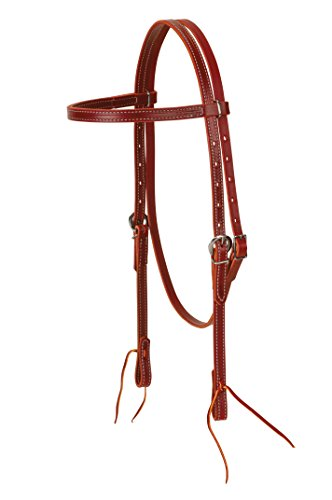 Tack Western (Weaver Leather Latigo Leather Browband Headstall)
