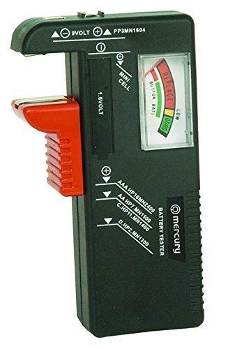 3 opinioni per Xiton Mercury Tester Batteria per AA, AAA, PP3 e Pile a Bottone