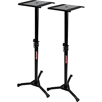 Amazon Com On Stage Sms6000 Adjustable Studio Monitor Stand Pair