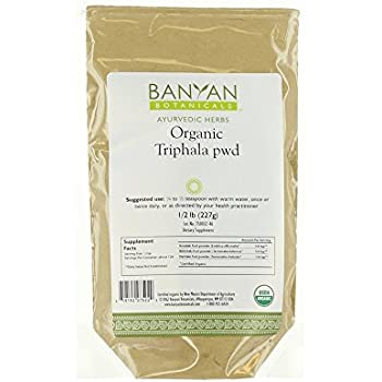 Banyan Botanicals Triphala Powder - USDA Organic, 1/2 Pound - Balancing Formula for Detoxification & Rejuvenation*