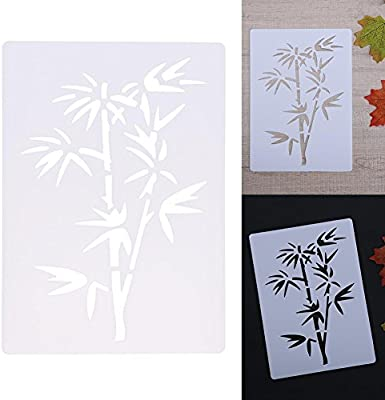 Airbrush Card making Stencil Craft Stencil Tree Stencil