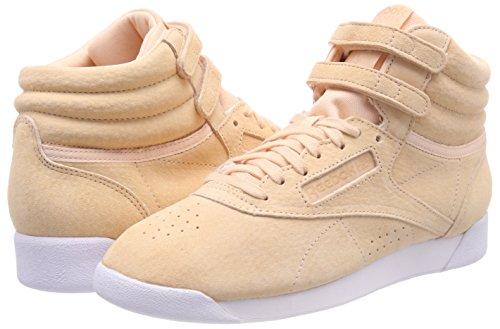 Nbk s Femme desert white 000 De Hi Marron F Chaussures Fitness Reebok qt015w1