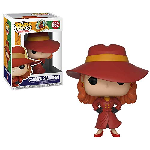Funko POP! TV: Carmen Sandiego - Carmen Sandiego Collectible Figure, Multicolor - http://coolthings.us